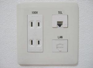 LANコンセントの参考写真